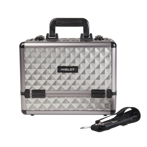 Makeup Case Silver Diamond Small (KC-ZH01)