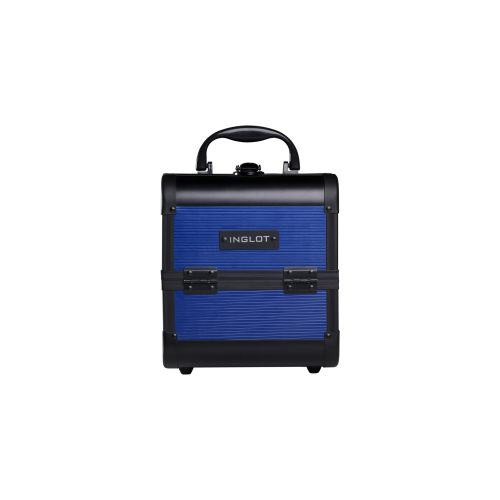 Makeup Case Diamond Blue Stripe (MB152M15)