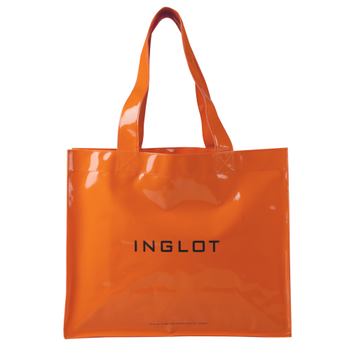 Patented Shopping Bag Neon Orange