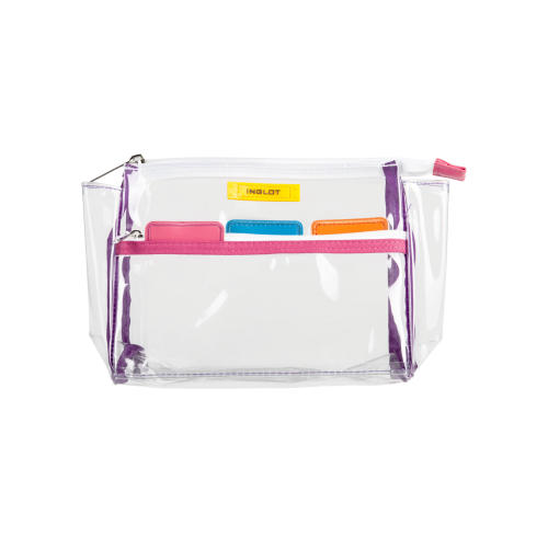 Transparent Cosmetic Bag Colour