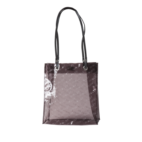 Brown Transparent Shopping Bag