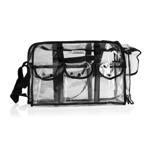 Transparent Cosmetic Bag With Pouches